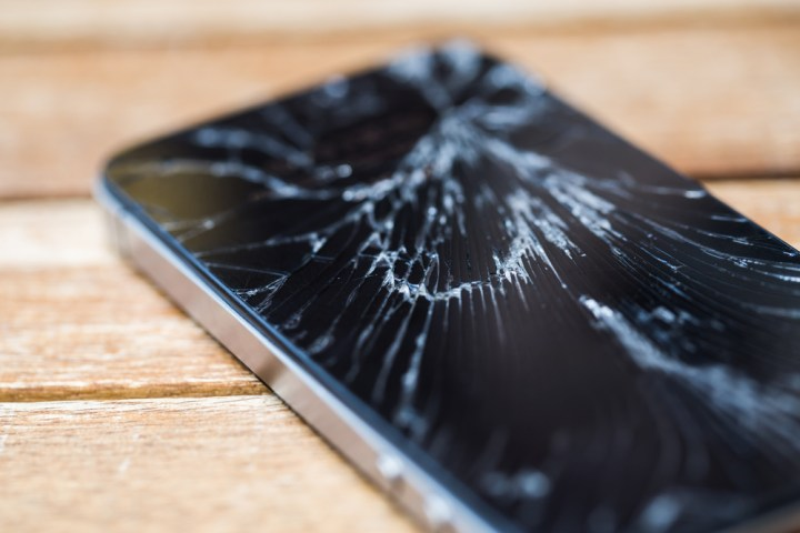 See if you can get a free screen repair or replacement.