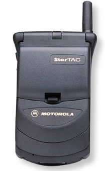 Though a feature phone, and one without color, the StarTac was impossibly slim for its time and is seen is the  precursor to the MOTO RAZR.