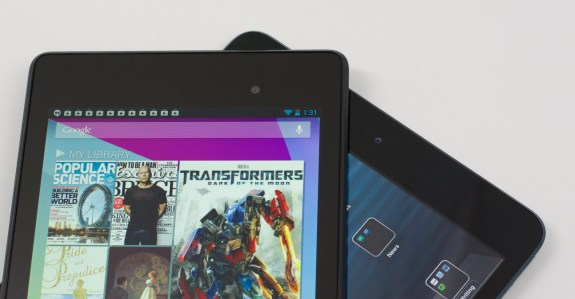 New Nexus 7 vs. iPad mini -  007
