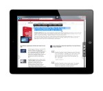 Parallels Access Text Selection on iPad accessing Internet Explorer