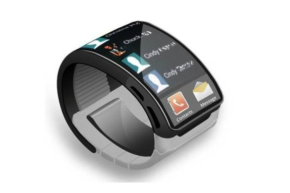 A Samsung Galaxy Gear Smartwatch concept. From VoucherCodesPro