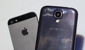 The iPhone 5S is expected to challenge phones like the Galaxy S4.