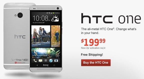 The Verizon HTC One release date finally arrives.