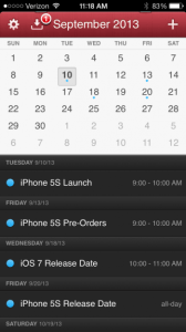 The iPhone 5S release date could land September 20th.