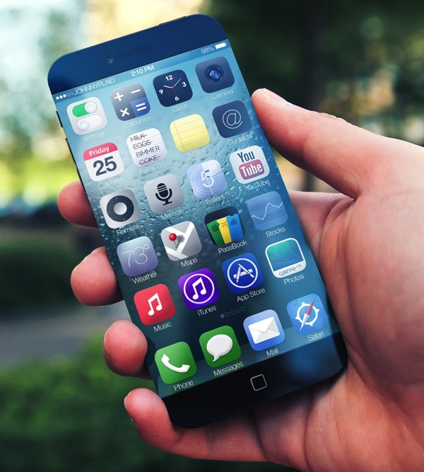 An iPhone 6 concept in your hand.