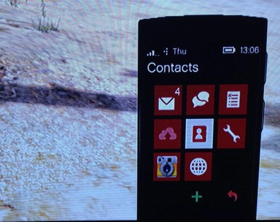 Here is the GTA Windows Phone.