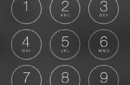 iOS 7 Security Passcode