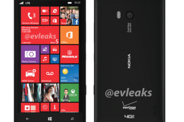 Alleged photos of the Nokia Lumia 929 shared by EVLeaks.