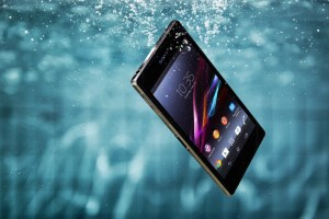 As shown: The Waterproof Xperia Z1.
