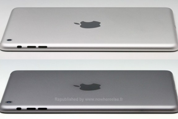 Closer look at alleged Space Gray iPad mini 2.