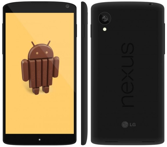 This new Nexus 5 render gives a bigger, clearer look at the device in question.