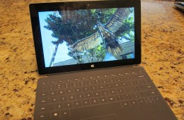 The Microsoft Surface 2 with Touch Keyboard.