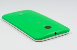 The Moto X design allows users to customize the looks of the AT&T Moto X.