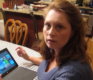 Thomasin Savaiano checks out the Microsoft Surface 2