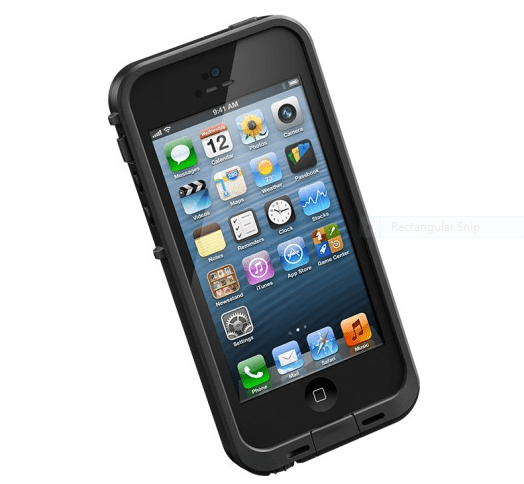 The LifeProof Fre case for the iPhone 5