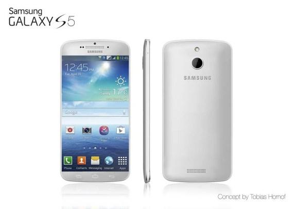 Galaxy S5 render.