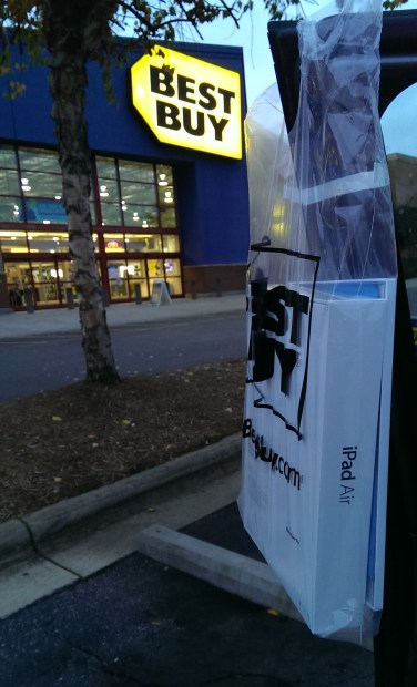 my apple ipad air outside best buy