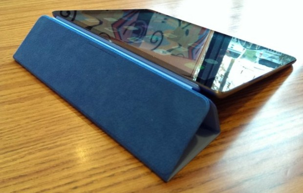 ipad air smart cover horizontal stand position