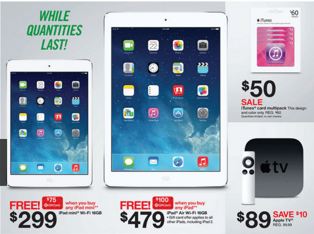 Target\'s iPad mini Black Friday Deal