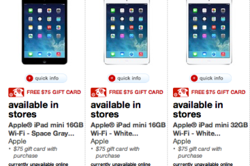iPad Target Cyber Monday Deal