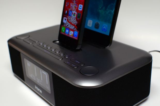 ihome idl100 triple charging dock controls
