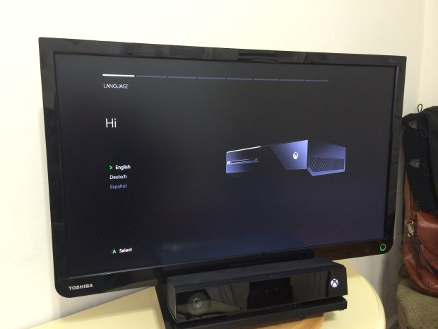 How to Setup an Xbox One (2)