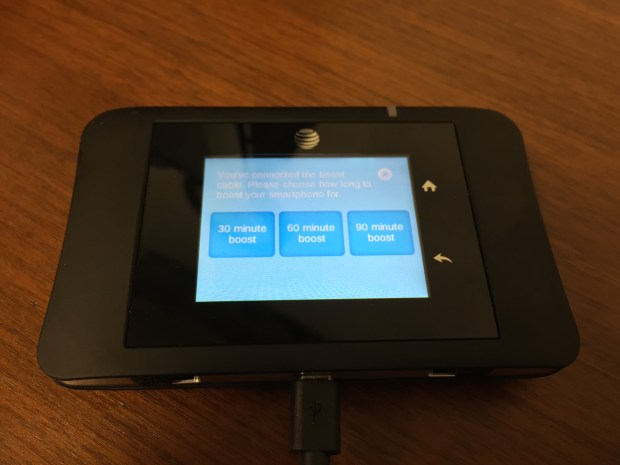 att unite pro hotspot battery boost