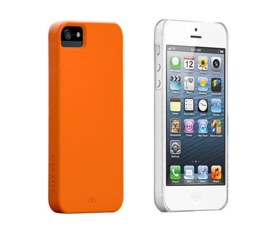 The Case Mate Barely There iPhone 5 case is available in an array of colors.