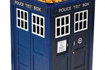 Dr. Who TARDIS Cookie Jar with Hidden Camera