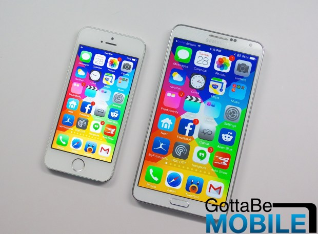 An iPhone 6 with a 5.5-inch or 5.7-inch display would push Apple to figure out a better way to deliver one-handed use in iOS 8.