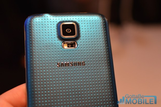 This is the all-new Samsung Galaxy S5.