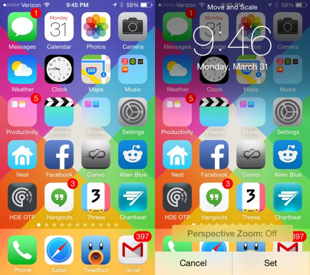 Make a home screen that doesn't work with this April fools iPhone prank.