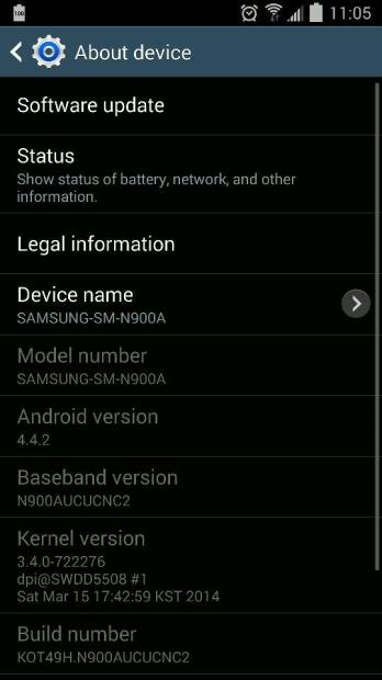 The AT&T Galaxy Note 3 Android 4.4 KitKat update is rolling out now.