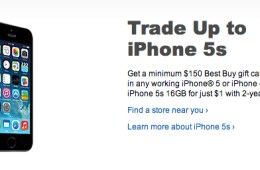 iPhone 5s sale at Best Buy