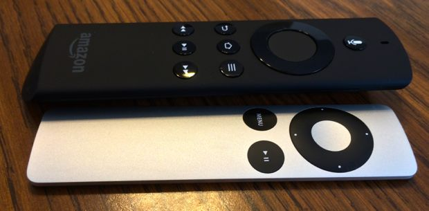 apple tv v amazon firetv remote