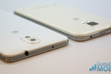 The Galaxy S5 and Galaxy Note 3 performance is very close.