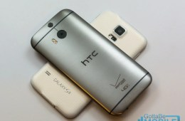 Samsung Galaxy S5 vs HTC One M8 - Hero