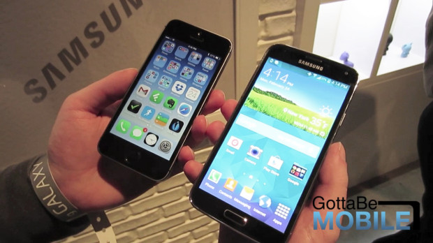 Samsung is pushing Apple to build a better iPhone 6 display with the Galaxy S5.