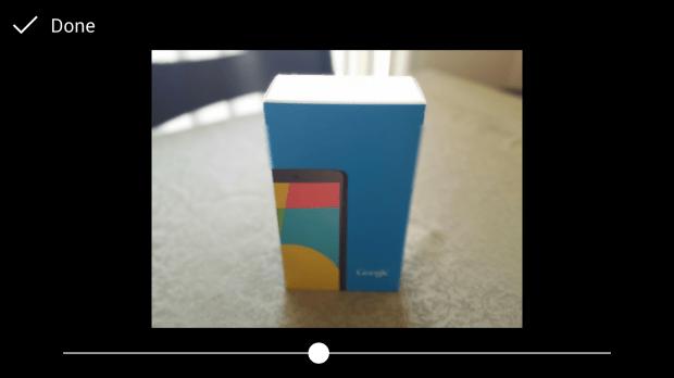 "Google Camera's ""Lens Blur"" Feature"