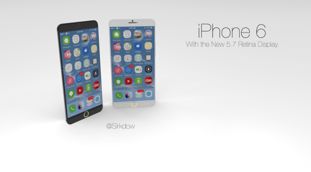 This new iPhone 6 concept sports a large 5.7-inch display.