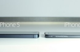 Reis' iPhone 6 concept is much thinner than the iPhone 5.
