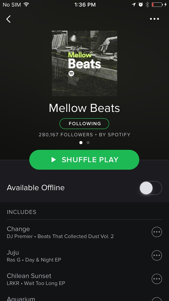 how to use spotify premium on iphone