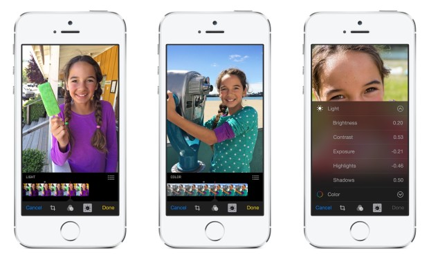 iOS 8 Features - Smart Photo Editing