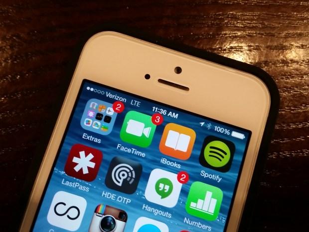 iPhone Battery Percent Indicator