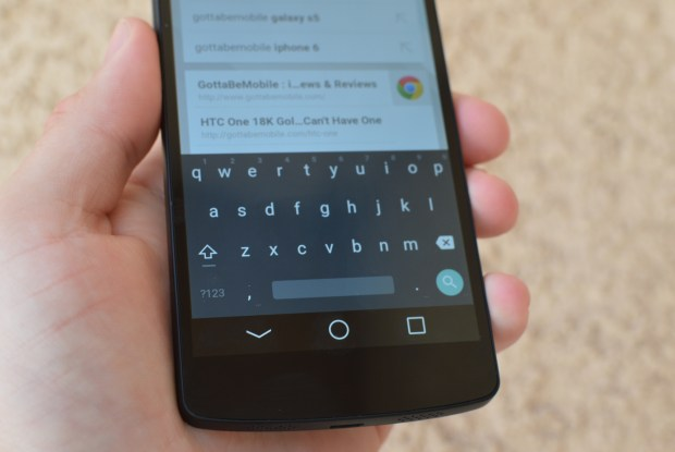Grab the Android L keyboard and other apps for Android 4.4.4 and older versions.