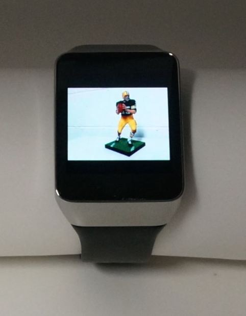 taking pictures with android wear watch and google camera