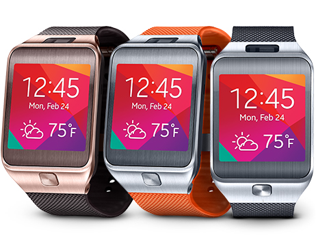 Samsung gear 2 colors
