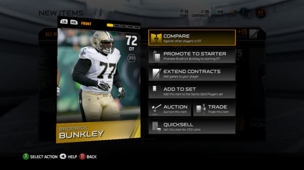 EA delivers new Madden 15 Ultimate team features and options.