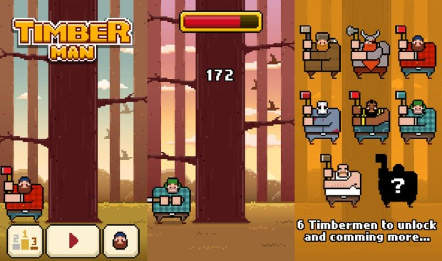 Timberman cheats help users get a Timberman high score without all the work.