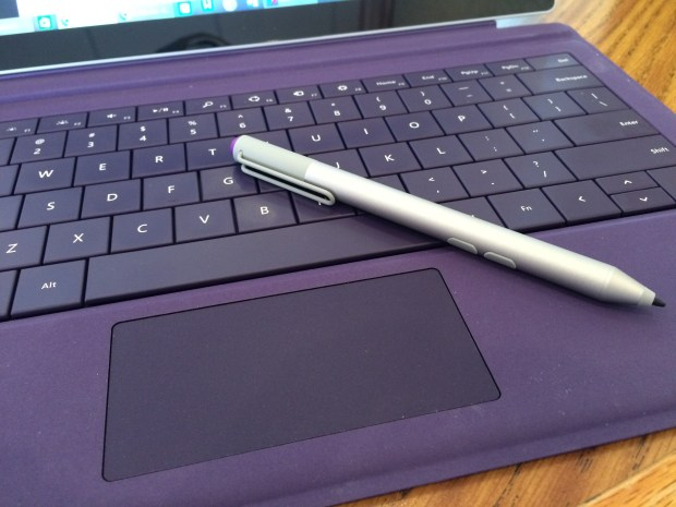 Type Cover touch pad